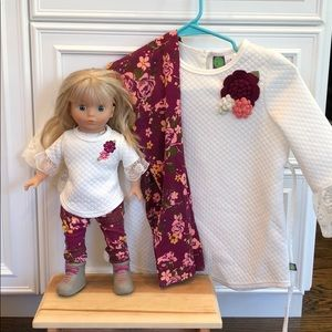 Dollie and Me Outfits Plus Beautiful Doll 8